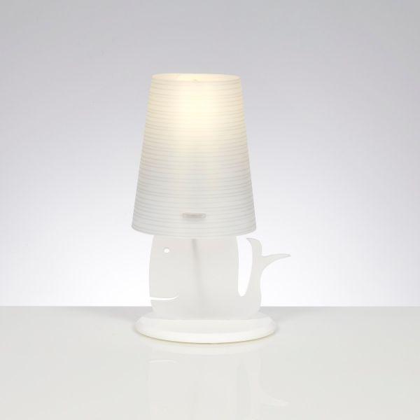 Balenalamp lampada da tavolo abat jour moderna per cameretta ragazzi bambini ebay - Lampada per cameretta ...