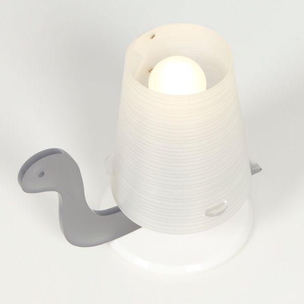 LUMOLAMP lampada abat jour da comodino o da TAVOLO per cameretta ...