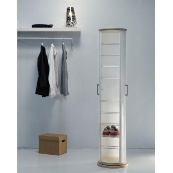 Scarpiera moderna Pop Wood per camera da letto soggiorno