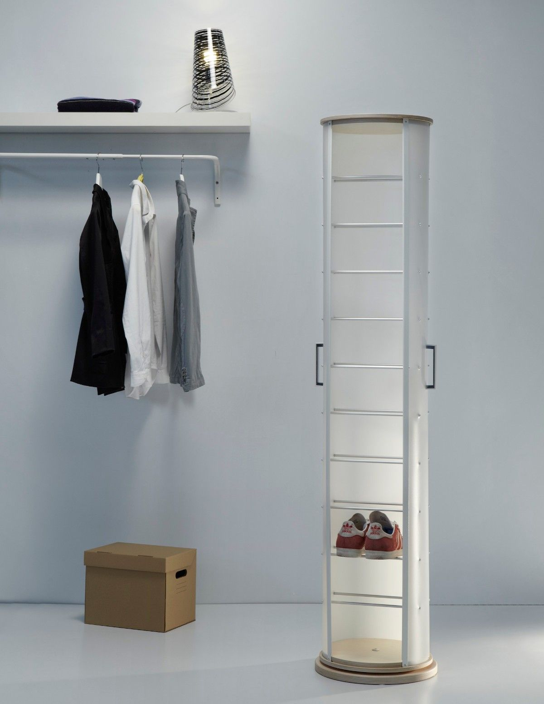 Scarpiera moderna pop wood per camera da letto soggiorno - Centrini per camera da letto moderna ...