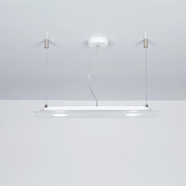 Domino lampadario a sospensione LED a due o tre o quattro luci