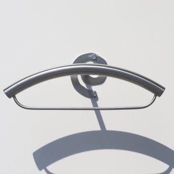 EyeM porta abiti da camera a muro in acciaio inox