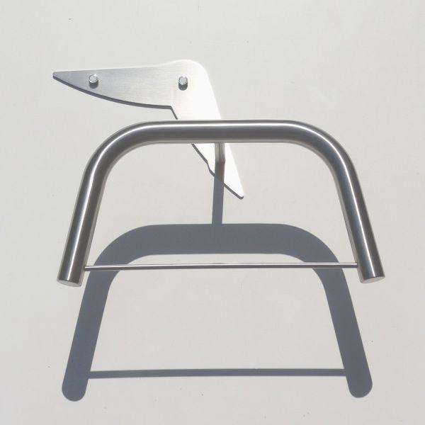 Portabiti moderno in acciaio inossidabile Silverwing
