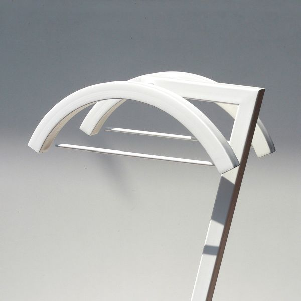 Romeo&juliet indossatore da camera servomuto in acciaio design moderno