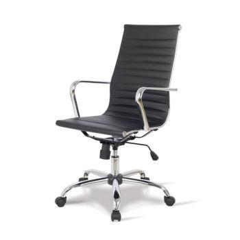 Sedie per ufficio in pelle o tessuto dal design moderno for Poltrona design economica