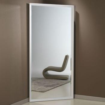 Specchiera Angolo angolare in alluminio verniciato cm.97x192h