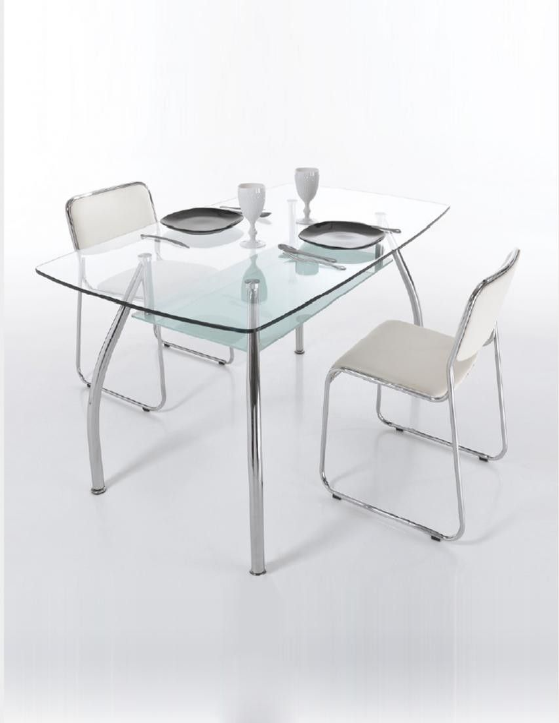 Sedia operativa da ufficio in ecopelle bianca o nera rupert for Sedia design ecopelle bianca
