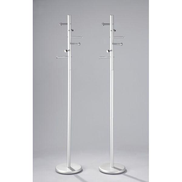 Attaccapanni moderno Denzel a piantana in metallo 180 cm