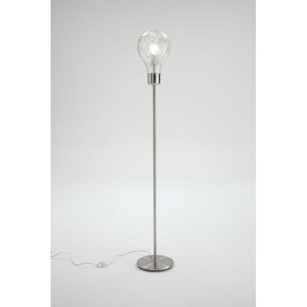 Lampada da terra design moderno a forma di lampadina Gwenda