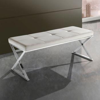 Panche moderne di legno o rivestite in pelle per arredo interni smart arredo design - Panca da interno ...