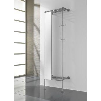 Attaccapanni da parete design moderno per ingresso smart - Attaccapanni con specchio ...