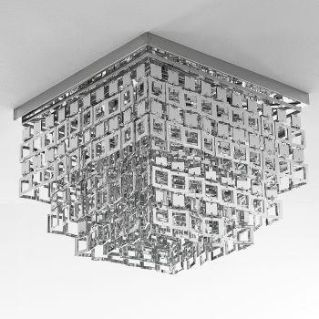 Plafoniera moderna Anitta con pendenti diametro 42 cm