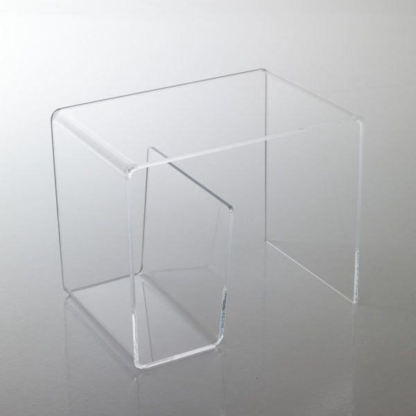 ... Tavolini > Tavolino da salotto Arietis con portariviste in plexiglass