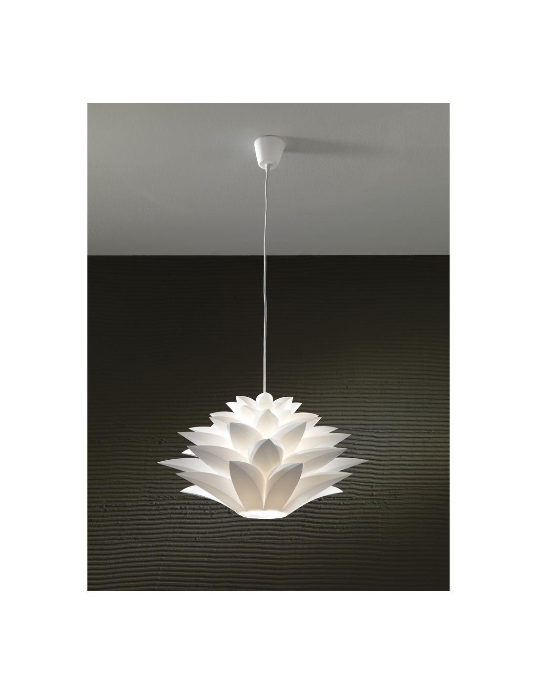 Lampadario yumiko a sospensione a forma di fiore - Lampadari da camera da letto moderni ...