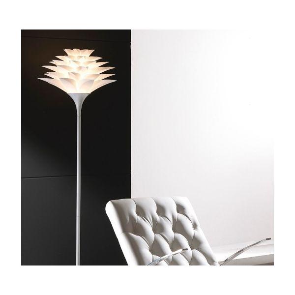 Lampada da terra Yumiko a forma di fiore 175 cm