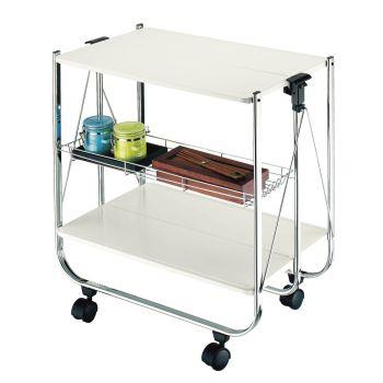 Idee salvaspazio contenitori e complementi d 39 arredo per for Carrello portavivande ikea