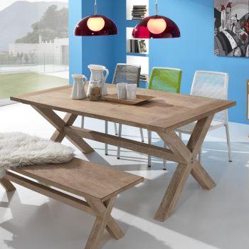 Tavolo da esterno PaloAlto in legno massello 150 | 180 | 230 cm