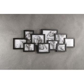 Quadro cornice Ti Ricordi portafoto da 10 foto da parete 102 x 36 cm
