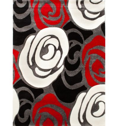 Tappeto Roses Deck in polipropilene 160 x 230 cm pelo 12 mm