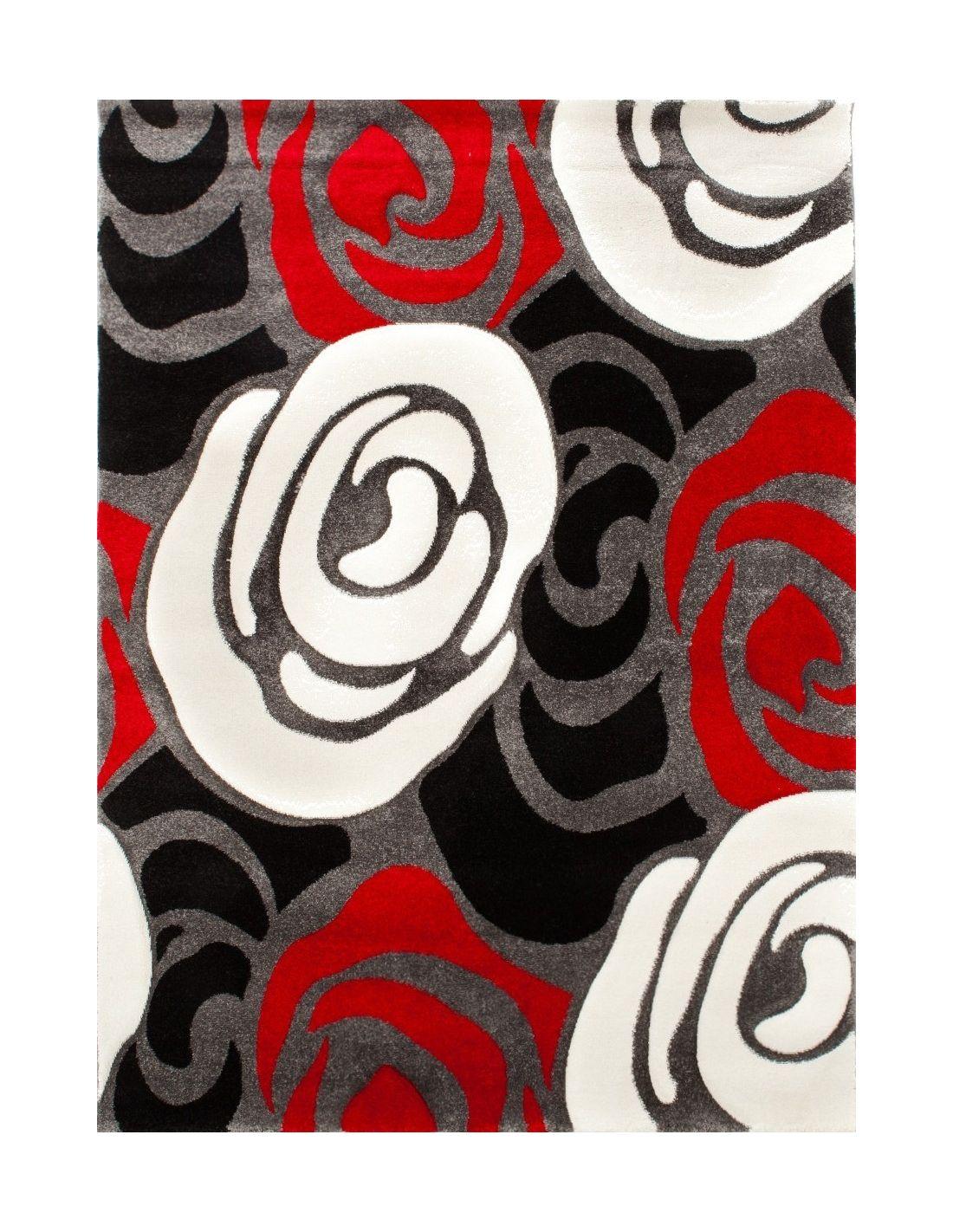 Roses Deck in polipropilene 160 x 230 cm pelo 12 mm