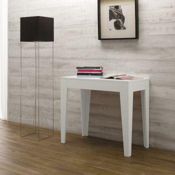 Vendita online tavoli da pranzo moderni in legno metallo o vetro smart arredo design - Tavolo consolle allungabile fino a 3 metri ...
