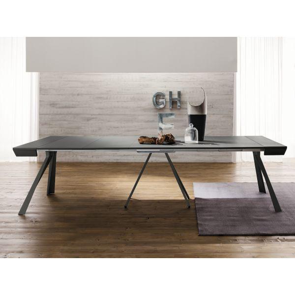 Consolle design VERONIKA allungabile in tavolo 3 metri in alluminio ...