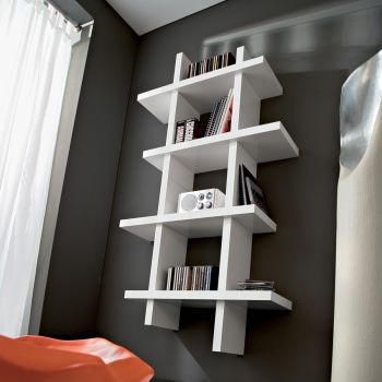 Mobili per ingresso moderni mobili da ingresso design - Libreria porta dvd ...