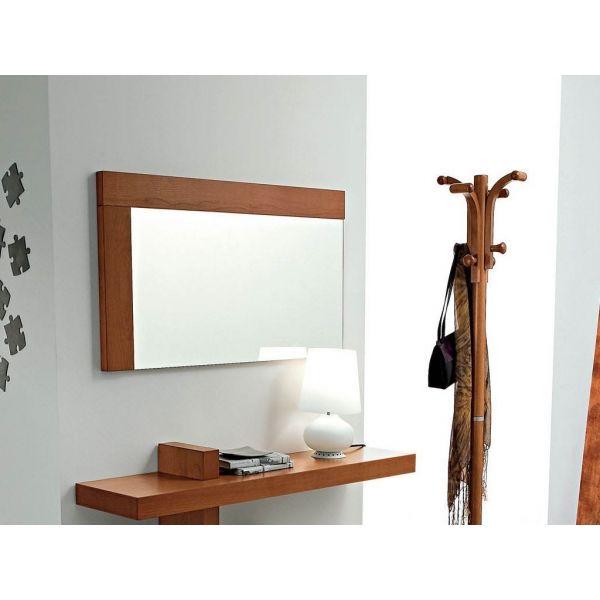 Bernard composizione mobili per ingresso consolle specchio appendiabiti ciliegio ebay - Consolle con specchio per ingresso ...
