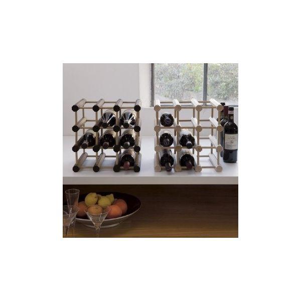 Cantinetta modulare Cubetto in legno 9 bottiglie