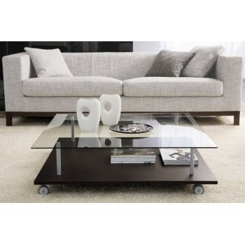 Tavolino BreakTime quadrato basso da salotto 100 x 100 cm