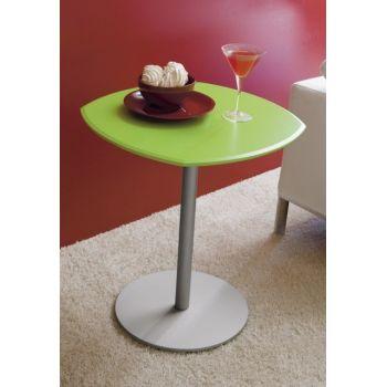 Tavolino Next To Me da caffe' lato divano in legno 54 x 54 cm