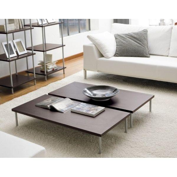 Tavolino Kingsley rettangolare da salotto in legno 100 x 55 cm