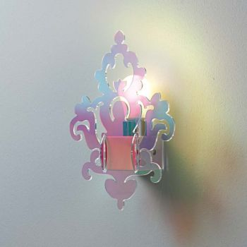 Applique Anthea Flash da parete in plexiglass design