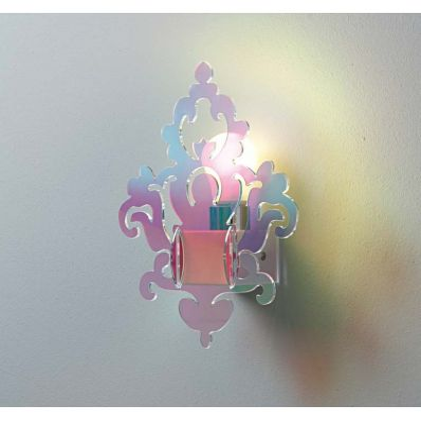 Applique Anthea Flash da parete in plexiglass design