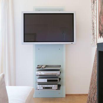 Mobili porta tv lcd dal design moderno smart arredo design - Porta televisore da parete ...