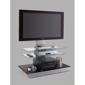 Carrello porta televisore Titan con ripiani in vetro x TV 60 pollici