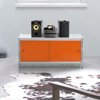 Scaffale per ufficio Socrate 156 design in acciaio 100x47 cm