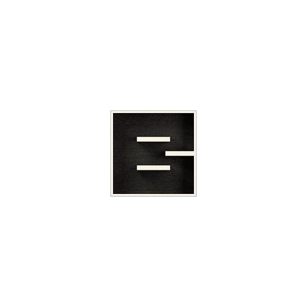 Cubo da parete per libreria a forma di lettera ABC Bookcase