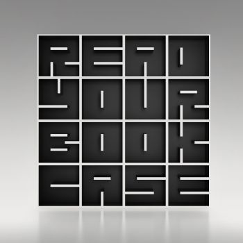 ABC RYBC libreria da terra o da parete lettere alfabeto 204 X 205 cm
