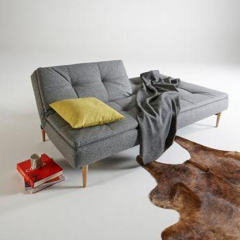 Divano letto Dublexo design scandinavo materasso a molle 210 cm