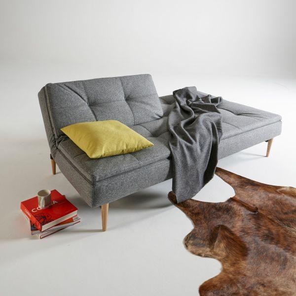 letto Dublexo design scandinavo materasso a molle 210 cm