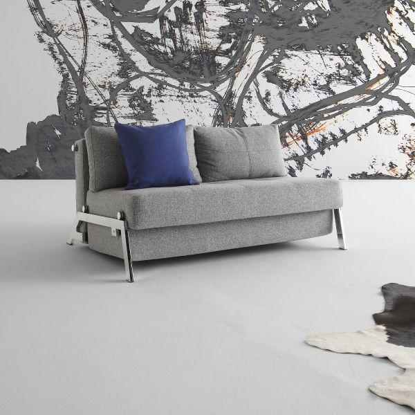 Divano letto Cubed matrimoniale trasformabile salvaspazio 140 cm