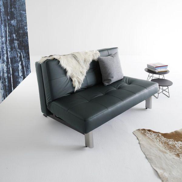 Divano letto Tjaze trasformabile in letto matrimoniale 140 x 200 cm