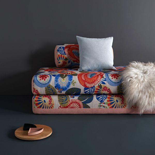 Divano letto Dulox raddoppiabile design moderno per cameretta