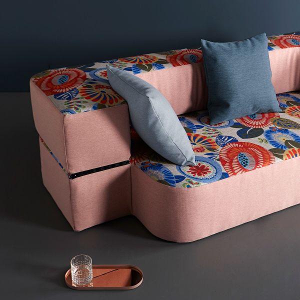Divano letto Tvedel trasformabile in tessuto per salotto o cameretta
