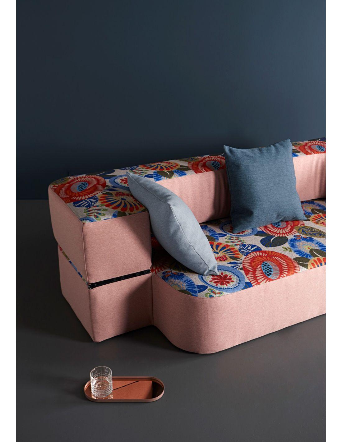 Divano letto Tvedel trasformabile in tessuto per salotto o ...