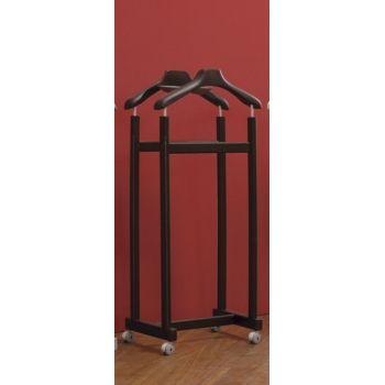 Porta abiti Helper su ruote servomuto indossatore in legno