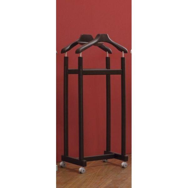 Porta abiti helper su ruote servomuto indossatore in legno - Porta abiti design ...