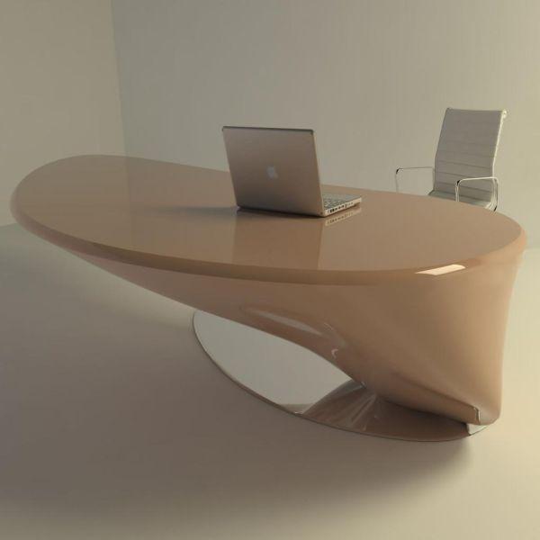 Tavolo scrivania per ufficio design moderno banconi negozio telefonia reception Sorel