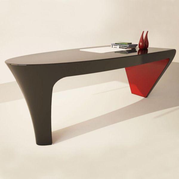 Scrivania design da ufficio studio banconi per negozi scrivanie moderne Hermann